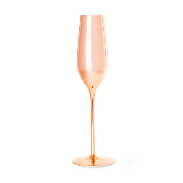 Royale Rose Gold Champagne Glass - OUTLET