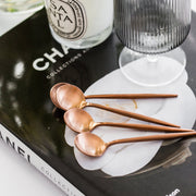 Princier Rose Gold Mini Spoons (4 per set)