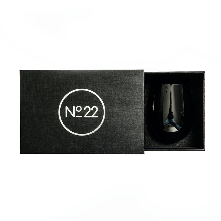 Royale Black Tumbler (2 per set)