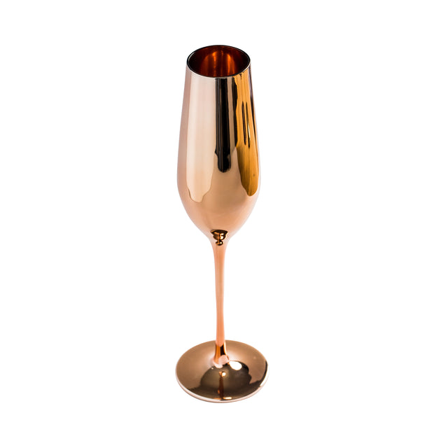 Royale Rose Gold Champagne Glass (2 per set)