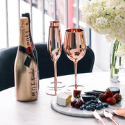 Royale Rose Gold Wine Glass - OUTLET