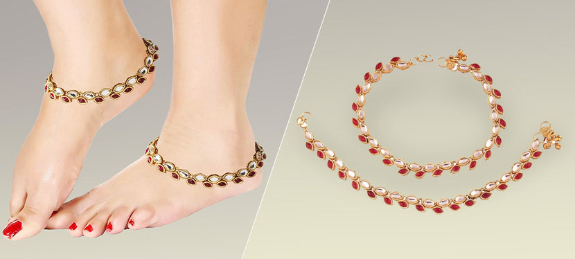 fashion anklets for women