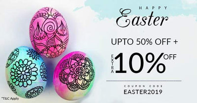 Celebrations begin with Easter Day Sale