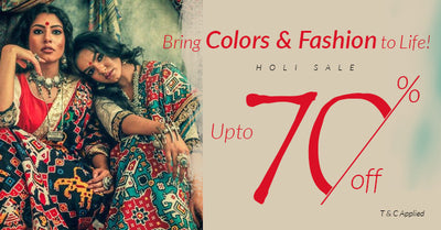 Upto 70% off - Holi Sale