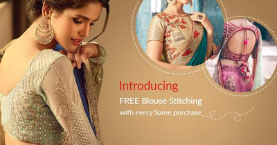 FREE Blouse Stitching with every Saree purchase
