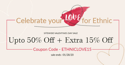 Celebrate your Love for Ethnic