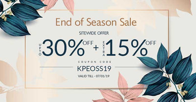 End of Season Sale | Flat 15% OFF