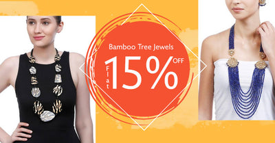 Flat 15% OFF on Bamboo Tree Jewels