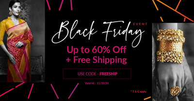 Black Friday Event : Upto 60% off +Free Shipping