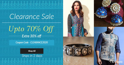 Clearance Sale , up to 70% & Extra 20% off