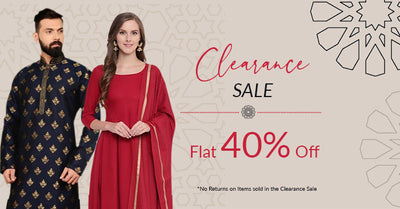 Clearance Sale , Flat 40% OFF