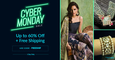 Cyber Monday Sale : Up to 60% off +Free Shipping