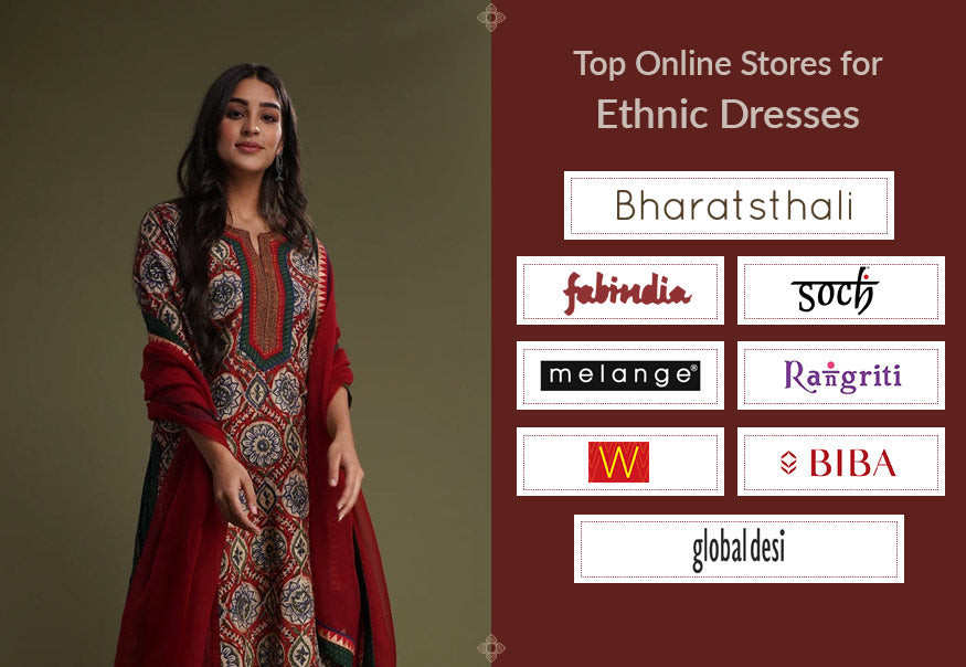 Online Stores for Ethnic Dresses