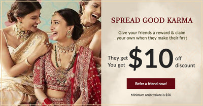 Refer & earn , they get $10 & you get $10