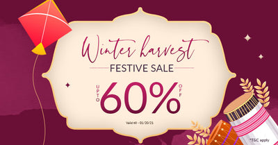 Winter Harvest Festive Sale , UPTO 60% off