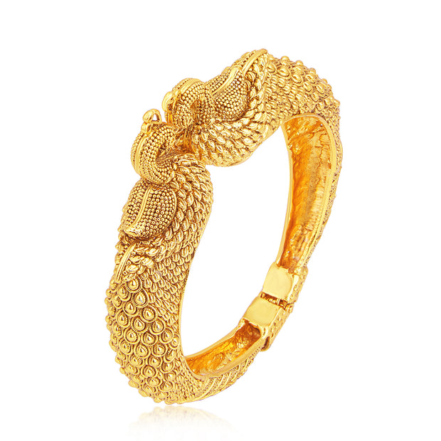 Alloy Kada Bangle in Gold
