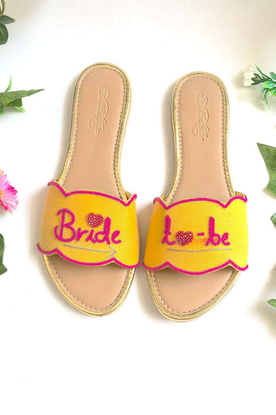 Buy Soft Faux Leather Flats In Yellow And Pink