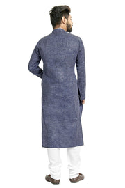 Shop Blue Kurta Set Online For Men