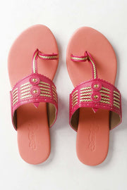 Buy Online Flat Kolhapuri Chappals For Women
