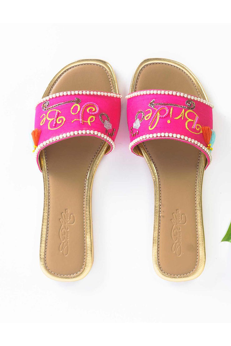 Buy Soft Faux Leather Flats in Pink