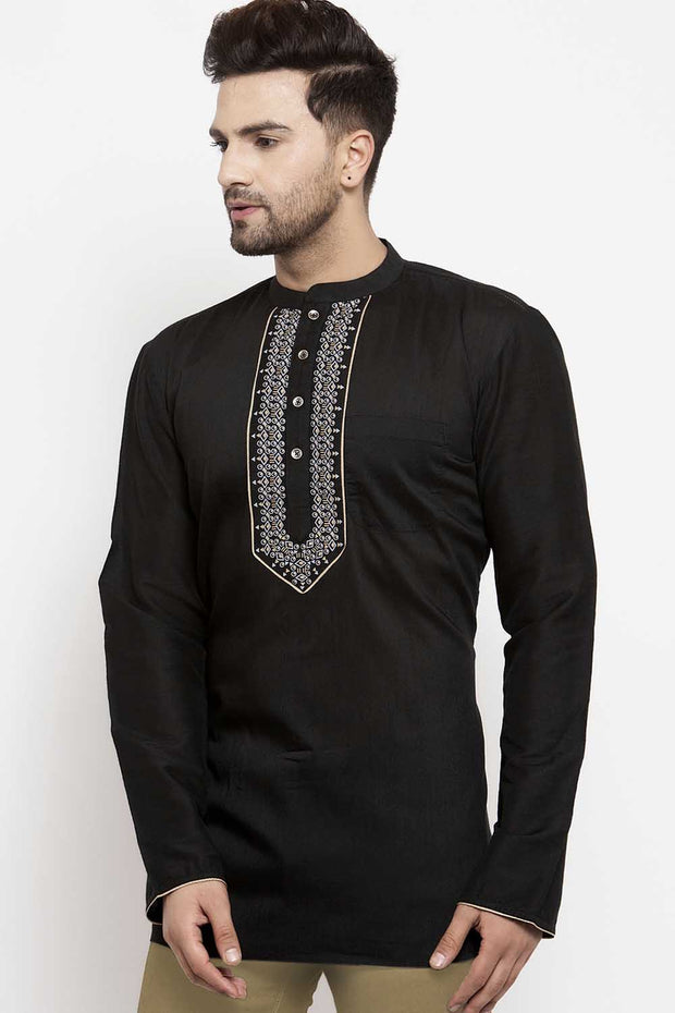 Short Kurta With Collar
