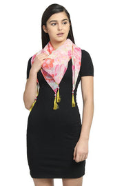 Chiffon Scarf in Pink
