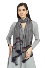 Viscose Scarve in Grey