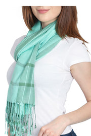 Viscose Stole in Green