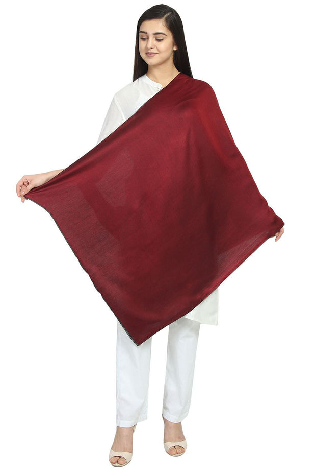 Modal Shawl in Red