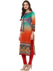 Cotton Kurta in Multi