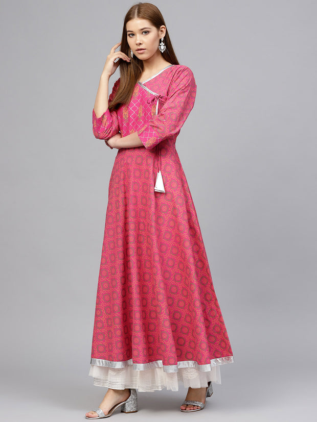 Cotton Kurta in Red