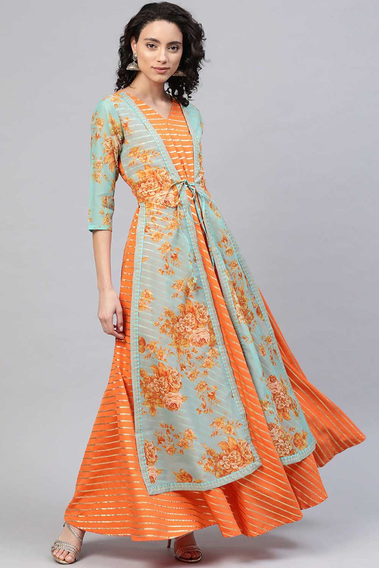 Kurta With Jacket Women's