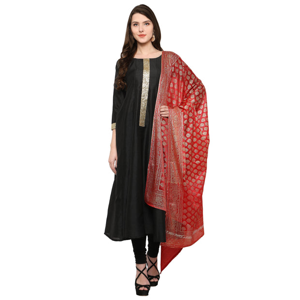 Lycra Kurta in Black
