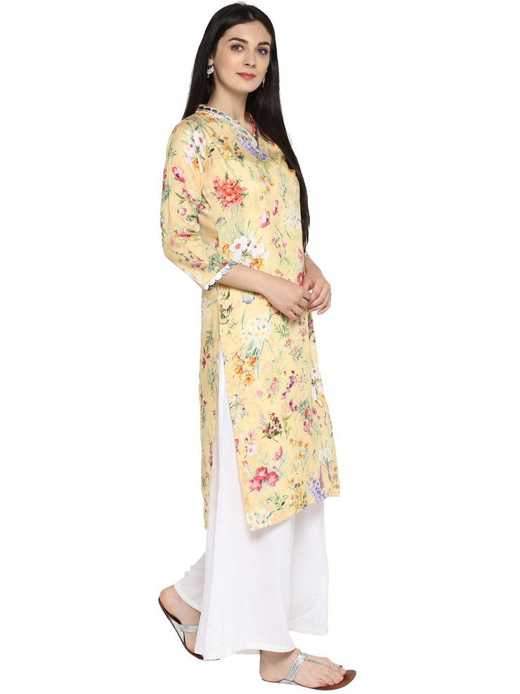 Kurta in Yellow