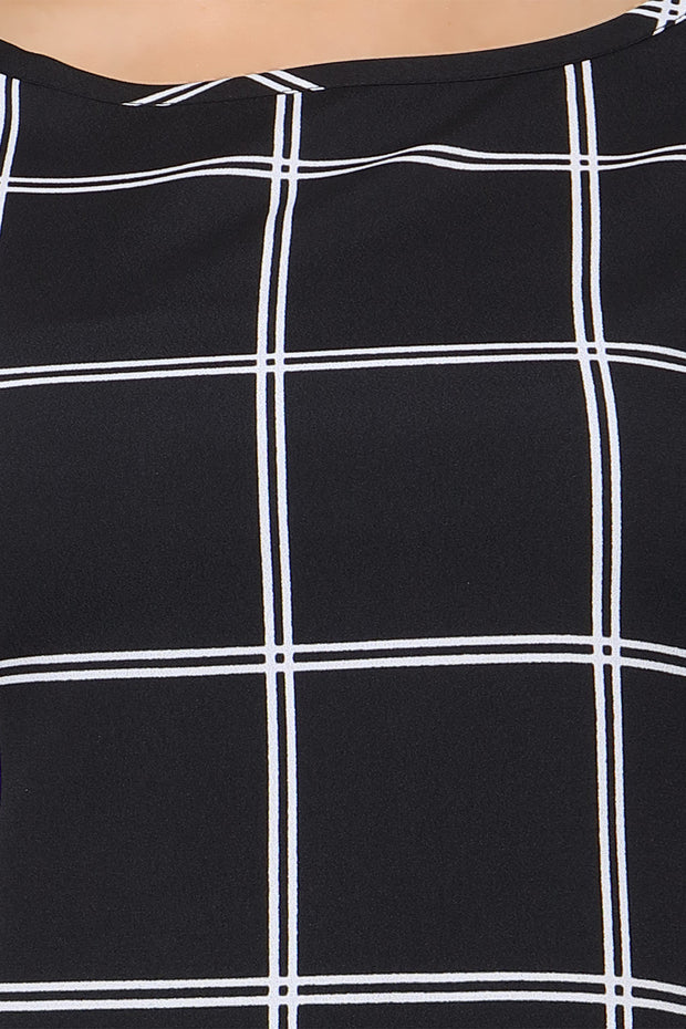 Polyester Top in Black