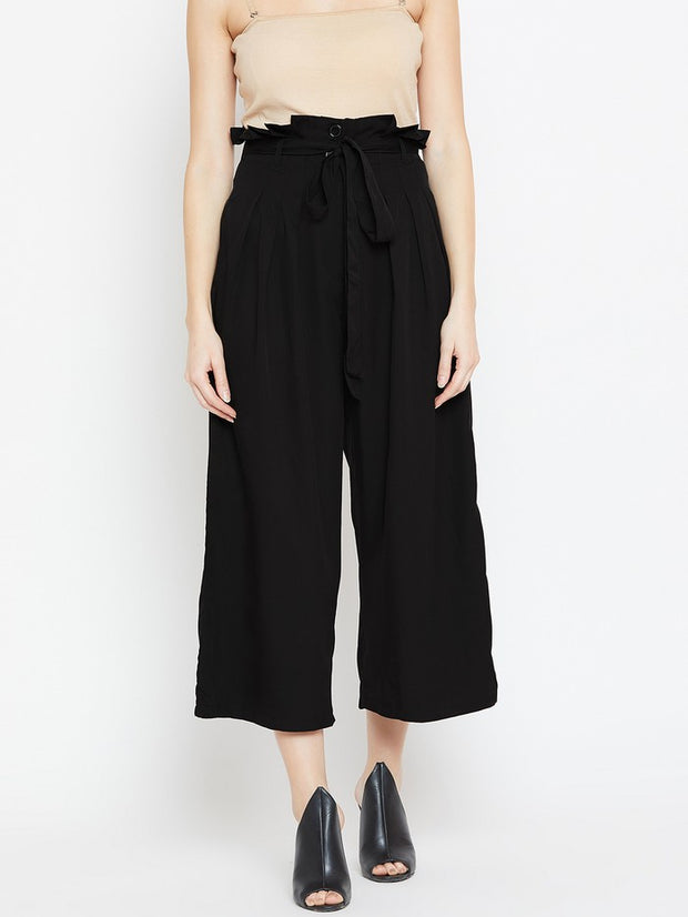 Parallel Trousers in Black