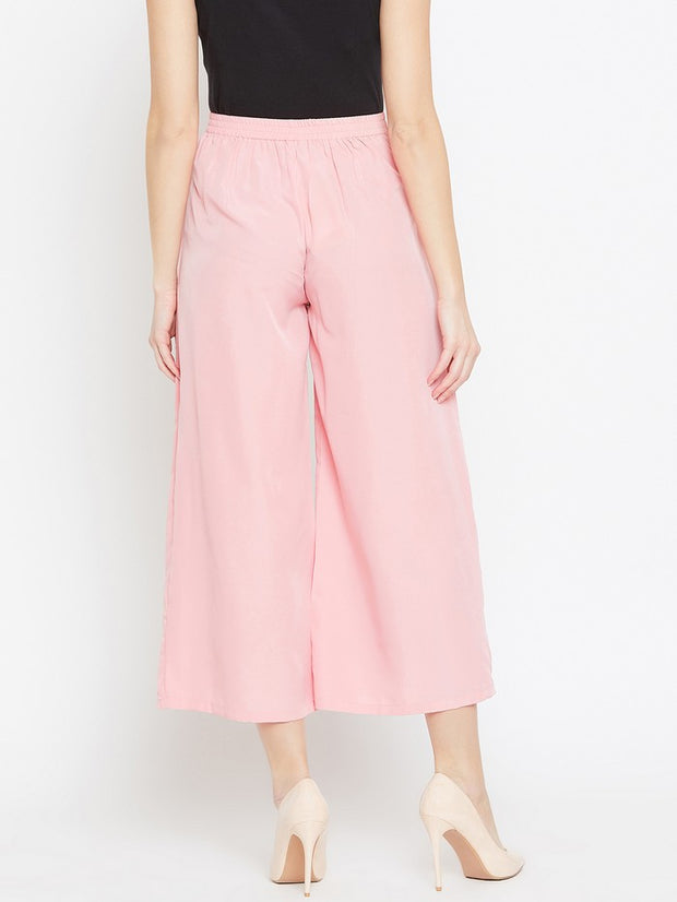 Parallel Trousers in Pink