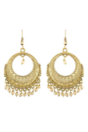 Zinc Earrings Combo in Gold