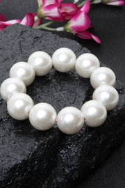Women's Sterling Silver Bracelet in White