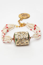 Women's Ceramic Bracelet in Red