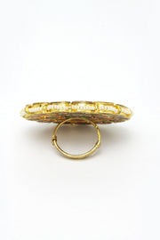 Women's Copper Ring in Gold