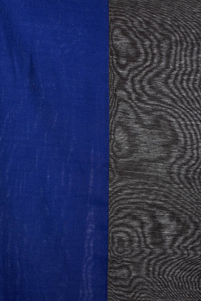 Art Silk Solid Dupatta in Black and Blue