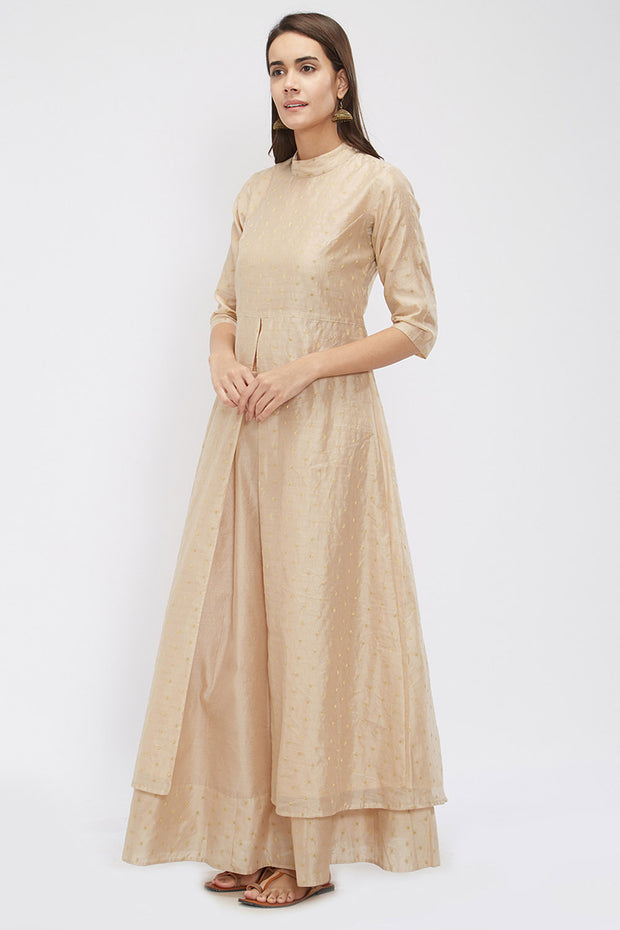 Chanderi Kurta in Beige