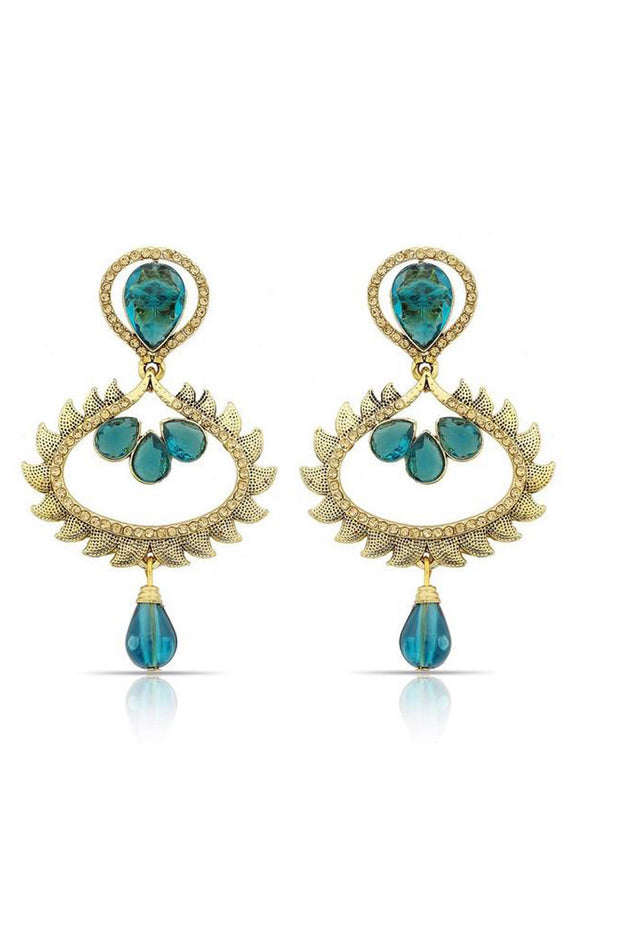 Women's Alloys Earring in Turquoise