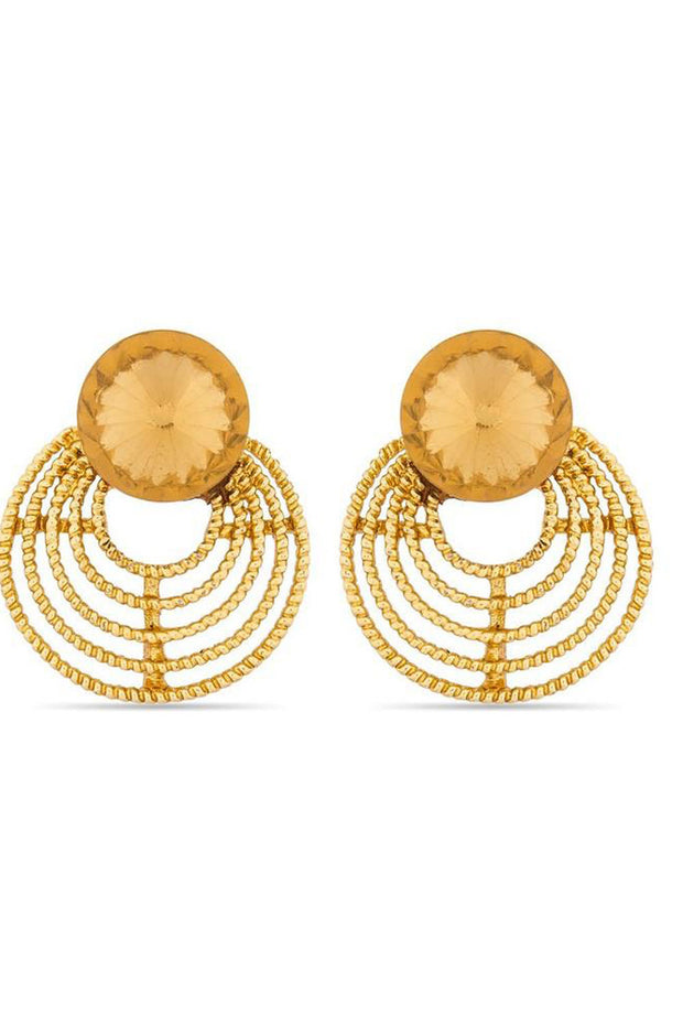 Buy Women's Alloys Earring in Gold Online