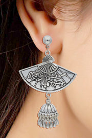 Alloy Jhumka Earring in Silver