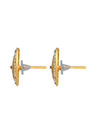 Zinc Stud Earring in Gold