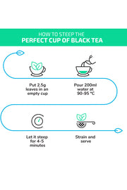 100% Herbal Black Tea