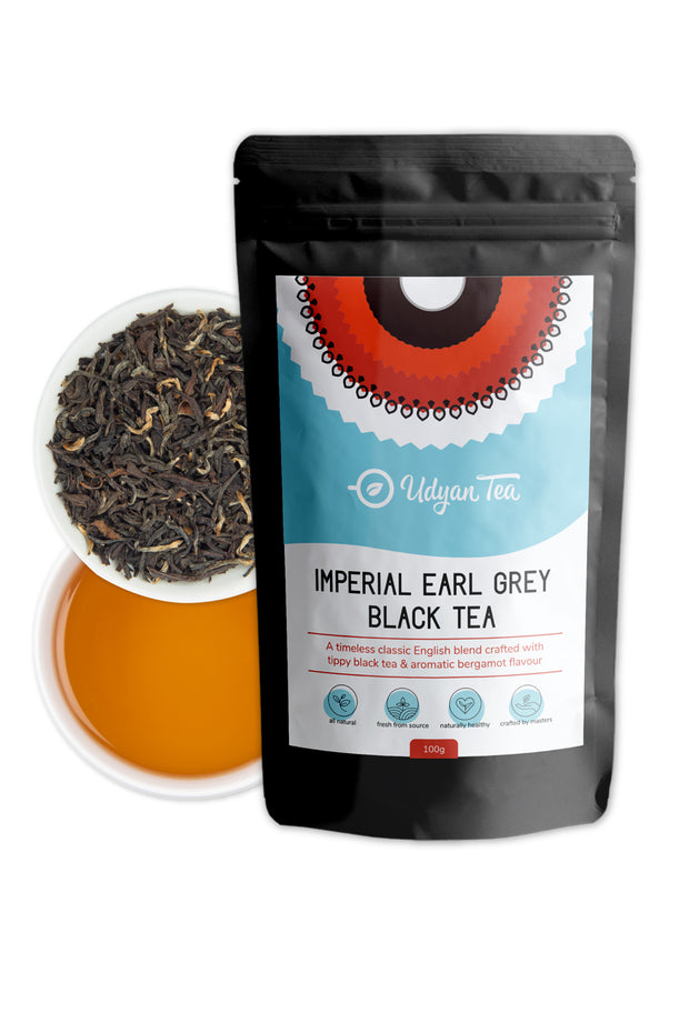 Buy Imperial Earl Grey Black Tea - 100 Gram