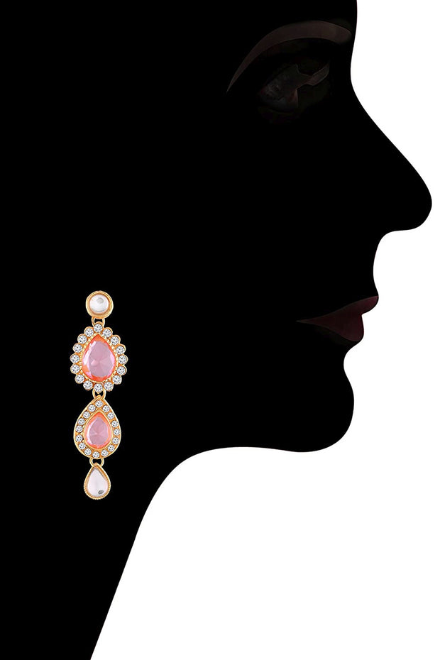 Bridal Necklace With Earrings For Women